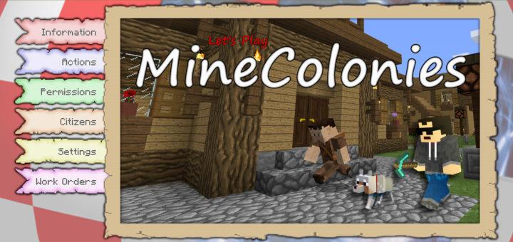 Minecraft MineColonies Mods AmigaLink Lets Play - Minecraft modpacks spielen